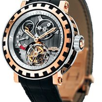 Dewitt Academia Tourbillon Differentiel 18K Rose Gold &...