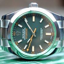 Rolex Milgauss Grünes Glas Random