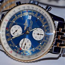 Breitling Old Navitimer Gold/Steel 42mm Blue No numerals United States of America, New York, Greenvale