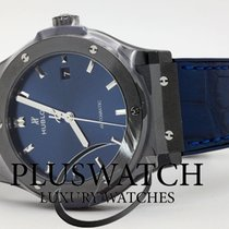 Hublot Classic Fusion Blue 542.CM.7170.LR .  542CM7170LR Ubrukt Keramikk 42mm Automatisk