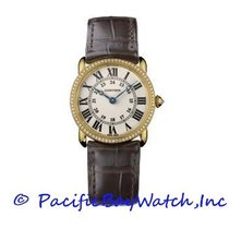 Cartier Ronde Louis Cartier Yellow gold 29mm Silver United States of America, California, Newport Beach
