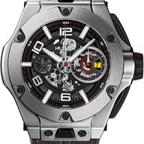 Hublot Big Bang Ferrari Titanium Transparent United States of America, New York, Brooklyn
