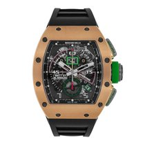 Richard Mille 42.70mm Automatik 2016 neu RM 011 Transparent