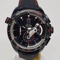 TAG Heuer Grand Carrera Calibre 36 Titan black red CAV5185