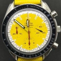 Omega speedmaster schumacher the legend yellow dial