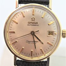 Omega Seamaster DeVille pre-owned Yellow gold