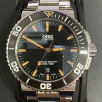Oris 43.5mm Automatic pre-owned Aquis Date Black