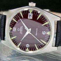 Omega Genève Steel 34mm Brown Arabic numerals United States of America, Utah, Draper