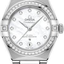 Omega Constellation Сталь 29mm Перламутровый