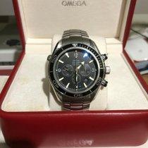 Omega Seamaster Planet Ocean Chronograph Steel 45.5mm Black Arabic numerals Australia, Gaythorne