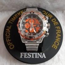 Festina Steel 48mm Quartz 03000787153 pre-owned