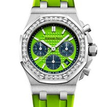 Audemars Piguet Royal Oak Offshore Lady Steel Green United States of America, Florida, North Miami Beach