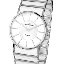 Jacques Lemans High Tech Ceramic York Steel 27mm White