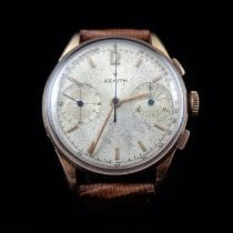 Zenith Yellow gold Manual winding 34.5mm pre-owned