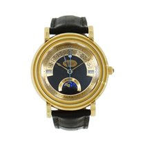 Parmigiani Fleurier Toric Yellow gold 40mm Black Arabic numerals United States of America, Connecticut, Greenwich