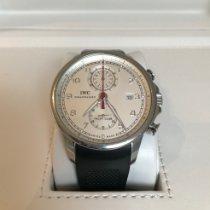 IWC Portuguese Yacht Club Chronograph Staal 45.4mm Zilver Arabisch Nederland, Retranchement