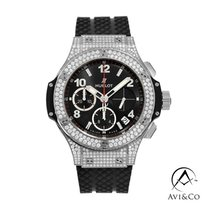 Hublot Big Bang 41 mm new 2019 Automatic Chronograph Watch with original box and original papers 341.SX.130.RX.174