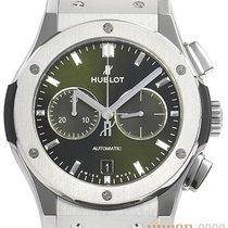 Hublot Classic Fusion Chronograph Titan 42mm Grün Keine Ziffern Deutschland, Bietigheim-Bissingen
