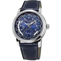 Franck Muller Steel Automatic Blue No numerals 42mm pre-owned
