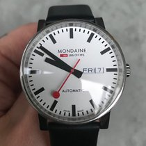 Mondaine Steel 40mm Automatic A132.30348.11SSB pre-owned