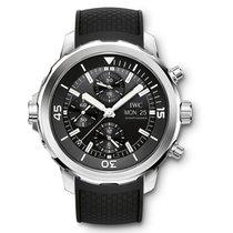 IWC Aquatimer Chronograph Aço 44mm Preto