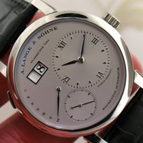 A. Lange & Söhne ref 320.025 Lange 1 Daymatic Platinum Men...
