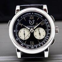 A. Lange & Söhne 404.035 Datograph Double Split Black Dial...