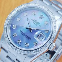 Rolex MOP Oyster Perpetual Date Diamonds Automatic Men's Watch