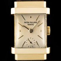 Patek Philippe Vintage Yellow gold 20mm Silver No numerals United Kingdom, London