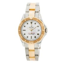 Rolex Yacht-master 68623 Unisex Automatic Watch White Dial Two...
