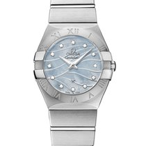 Omega Constellation Quartz 123.10.27.60.57.001 2020 новые