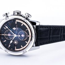 Louis Moinet Chronograph 46.5mm Automatic new Geograph Black