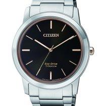 Citizen Titan 41mm Sort Ingen tal