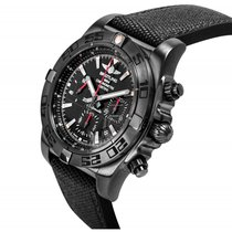 Breitling Chronomat 44 Blacksteel MB0111C3/BE35/253S neu