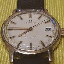 Omega 136.0104 Gold/Stahl Genève 35mm