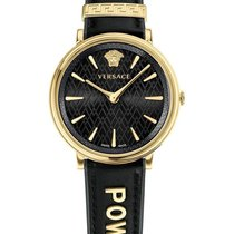 Versace Damenuhr 38mm Quarz neu Uhr mit Original-Box und Original-Papieren