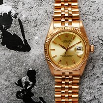 Rolex Red gold Automatic 36mm pre-owned Datejust