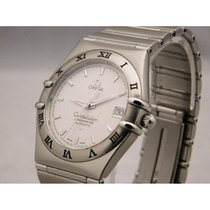 Omega Constellation Steel White