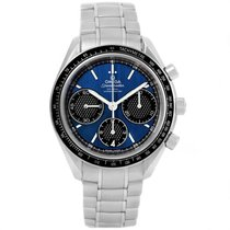 Omega Speedmaster Racing pre-owned 40mm Blue Chronograph Date Steel