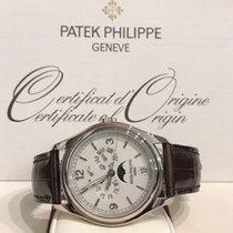 Patek Philippe Annual Calendar White gold 39mm White Arabic numerals