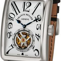 Franck Muller White gold 54,6mm Automatic Long Island pre-owned