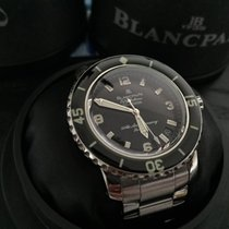 Blancpain Steel 40mm Automatic 2200A-1130-71 pre-owned Canada, Edmonton