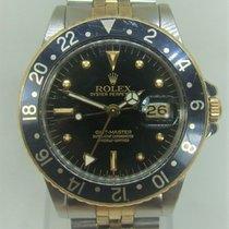 Rolex GMT-Master Gold/Steel 40mm Black No numerals Thailand, Khon kaen