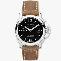 Panerai Luminor Marina Automatic Steel 40mm Black Arabic numerals United Kingdom, London