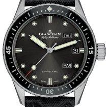Blancpain Fifty Fathoms Bathyscaphe neu Automatik Chronograph Uhr mit Original-Box
