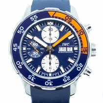 IWC Aquatimer Chronograph Steel 44mm Blue No numerals Singapore, Singapore
