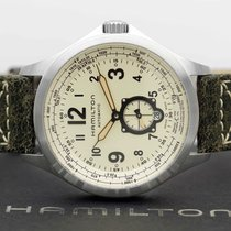 Hamilton Khaki Aviation Acier 42mm Champagne Arabes