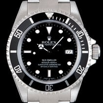 Rolex Sea-Dweller 4000 Stal 40mm Czarny