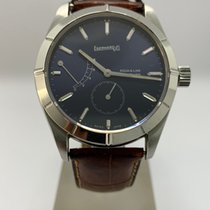 Eberhard & Co. 8 Jours Steel 40mm Blue No numerals