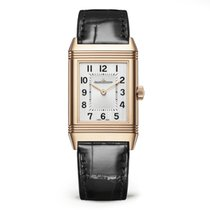 Jaeger-LeCoultre Rose gold Manual winding Silver Arabic numerals new Reverso Classique